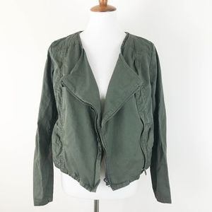 a.n.a Jacket Waterfall Army Green Lightweight MED